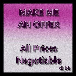 Make me an offer, I can't say yes unless you offer